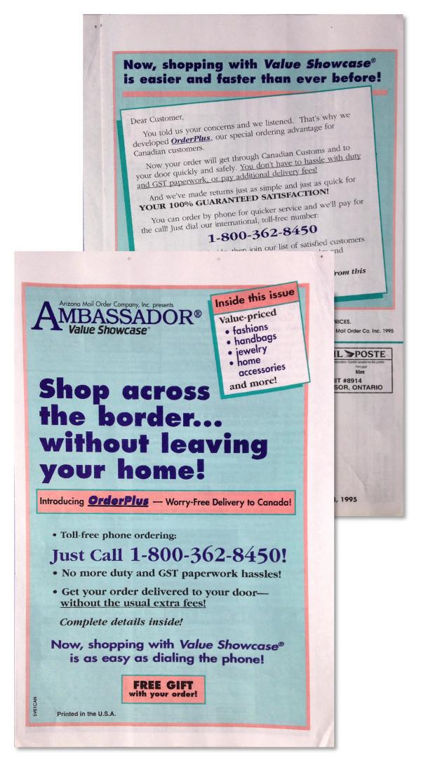 AMO catalog wrap