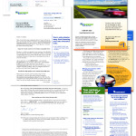 Esurance auto insurance direct mail package