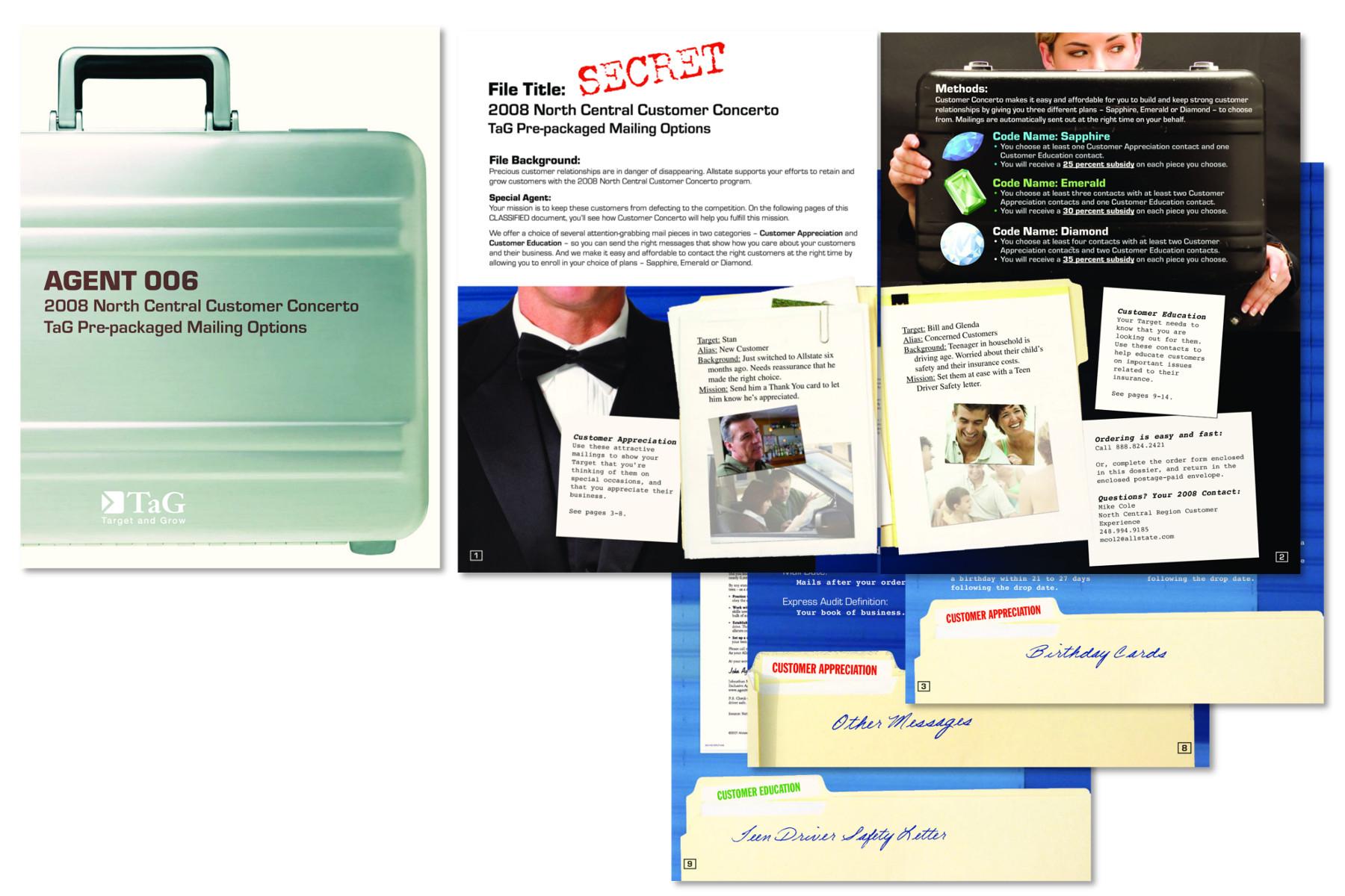 Insurance agent kit brochure